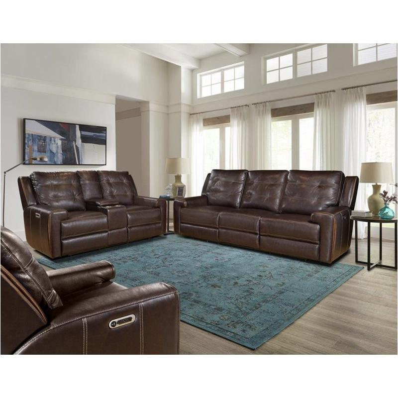 Mpat822cph Cly Parker House Furniture Patterson Entertainment Loveseat Dual Recliner With Usb And Headrest