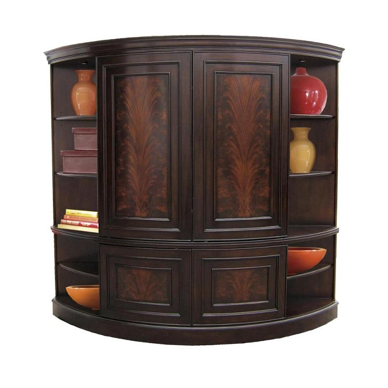 Furniture Com Coupons: 12087 Riverside Furniture Curved Slidedoor Entertainment Deck