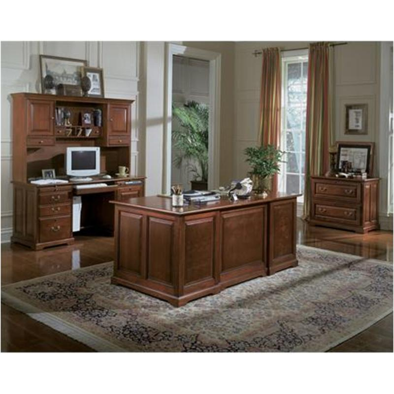 18172 Riverside Furniture Meridian Cherry 72 Inch Executive Desk