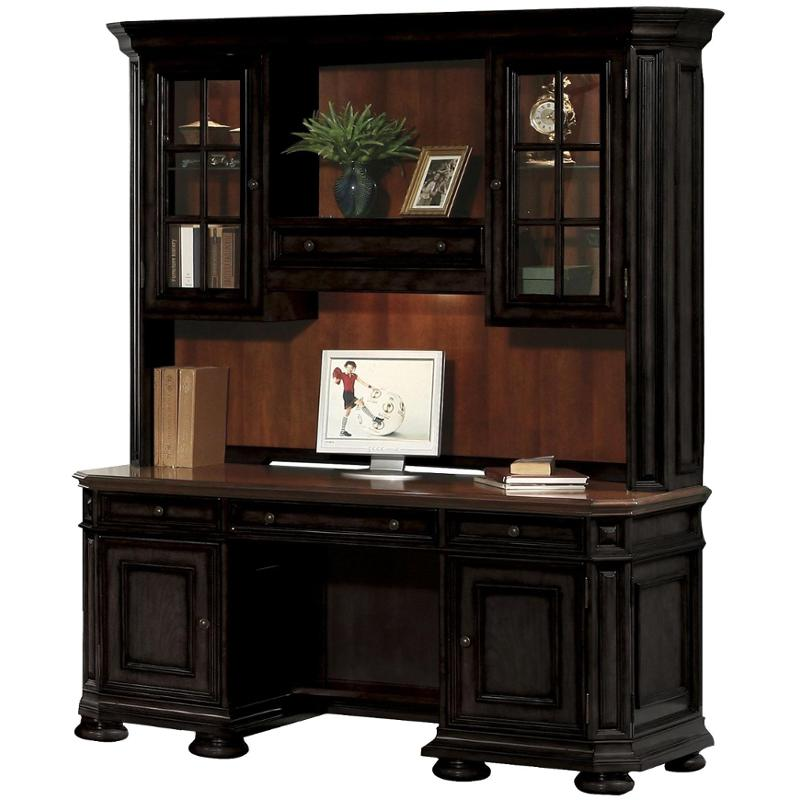 44727 Riverside Furniture Allegro Credenza Hutch. 44727 Riverside Furniture  Allegro Home Office Credenza