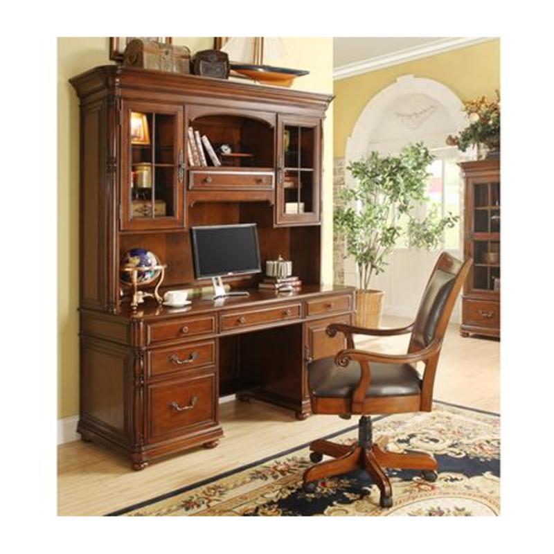 Riverside Home Office Executive Desk 44732: 24533 Riverside Furniture Bristol Court Computer Credenza