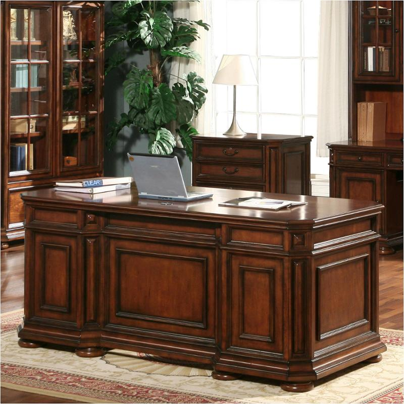 4932 Riverside Furniture Cantata Executive Desk