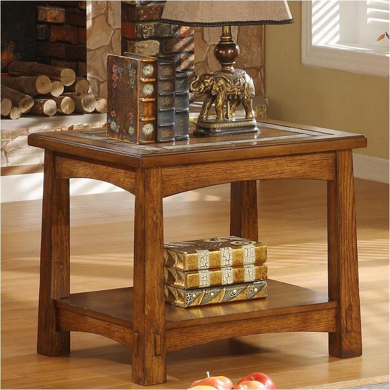 2909 Riverside Furniture Craftsman Home End Table