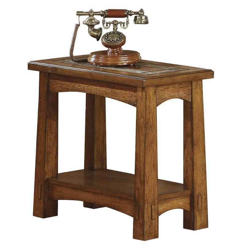 2911 Riverside Furniture Craftsman Home Living Room End Table