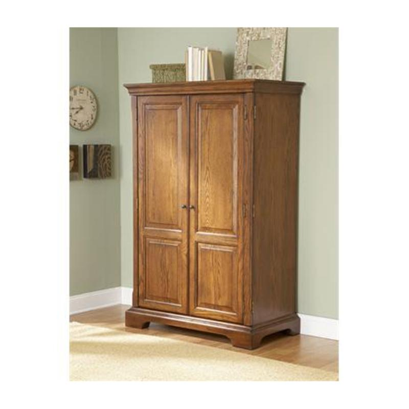8985 Riverside Furniture Seville Square Home Office Armoire