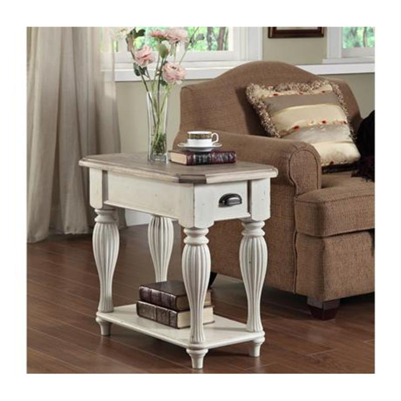 32512 Riverside Furniture Coventry Two Tone Living Room End Table