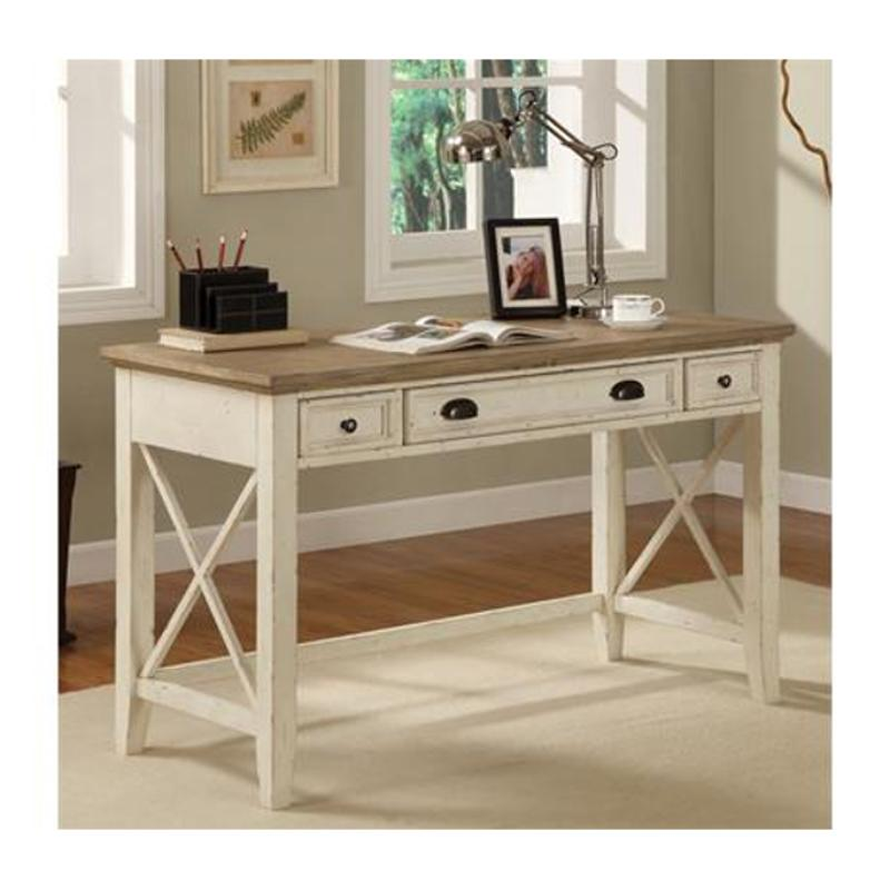 32520 Riverside Furniture Coventry Two Tone Home Office Desk