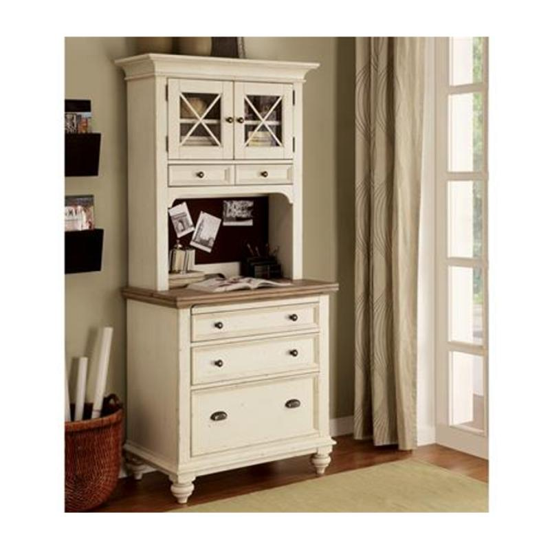 32532 Riverside Furniture Coventry Two Tone Home Office Desk