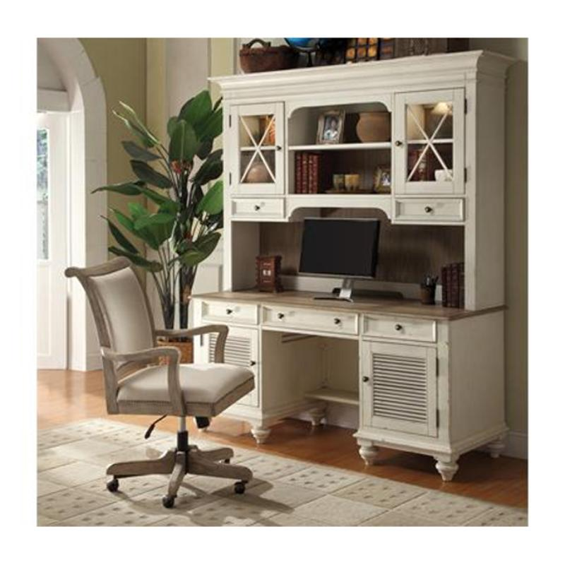 32533 Riverside Furniture Coventry Two Tone Home Office Credenza