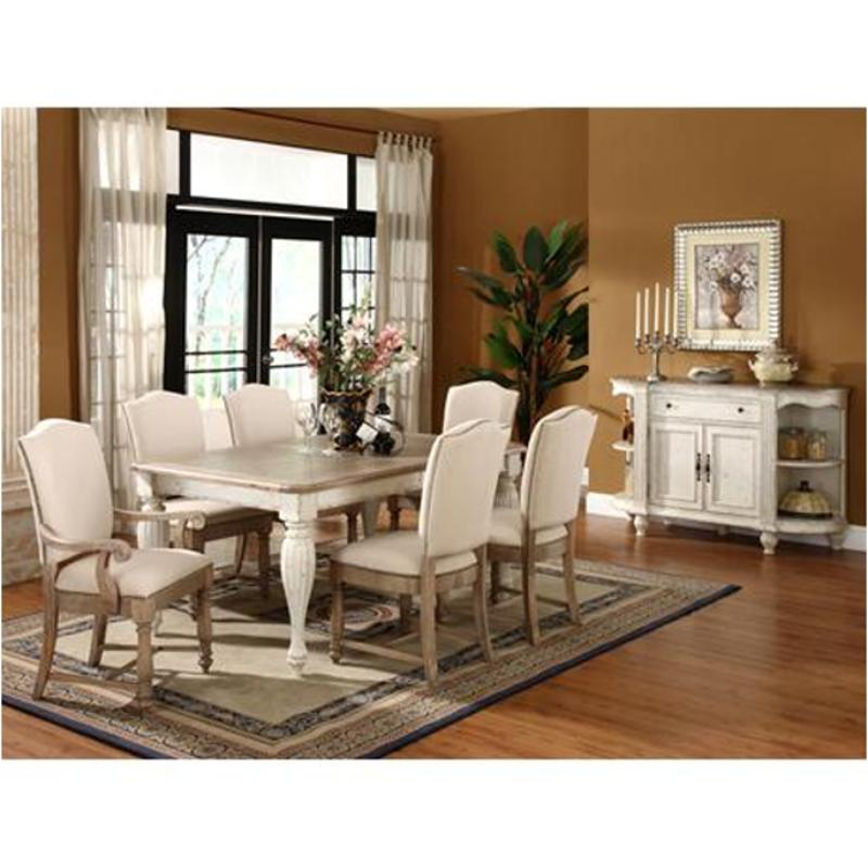 32550 Riverside Furniture Coventry Two Tone Dining Room Dining Table