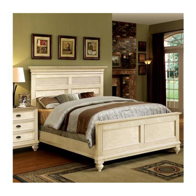 32574 Riverside Furniture Queen Panel Shutter Bed