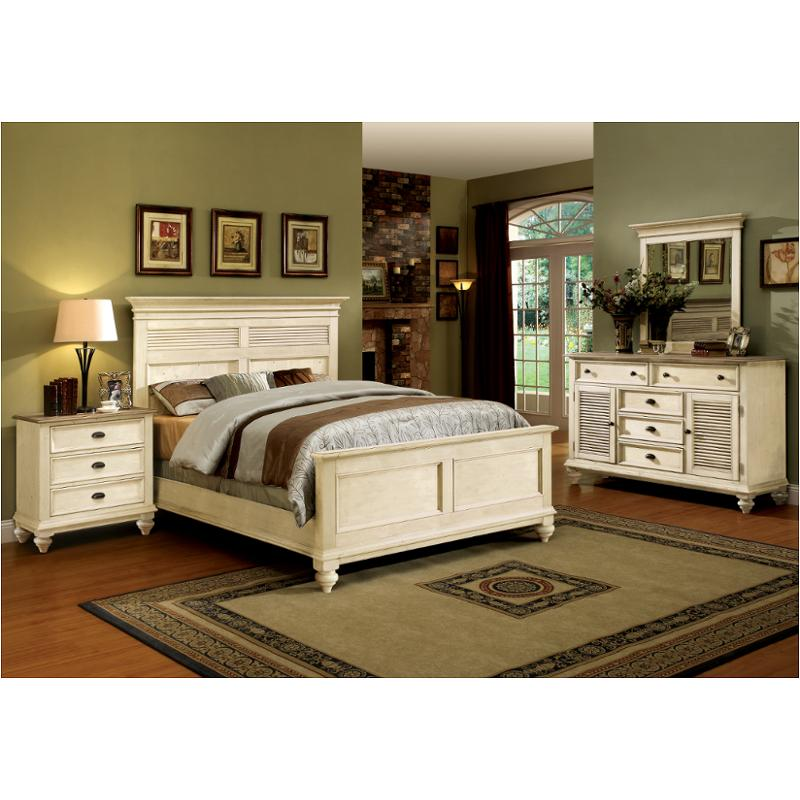 32584 Riverside Furniture Coventry Two Tone Bedroom Bed