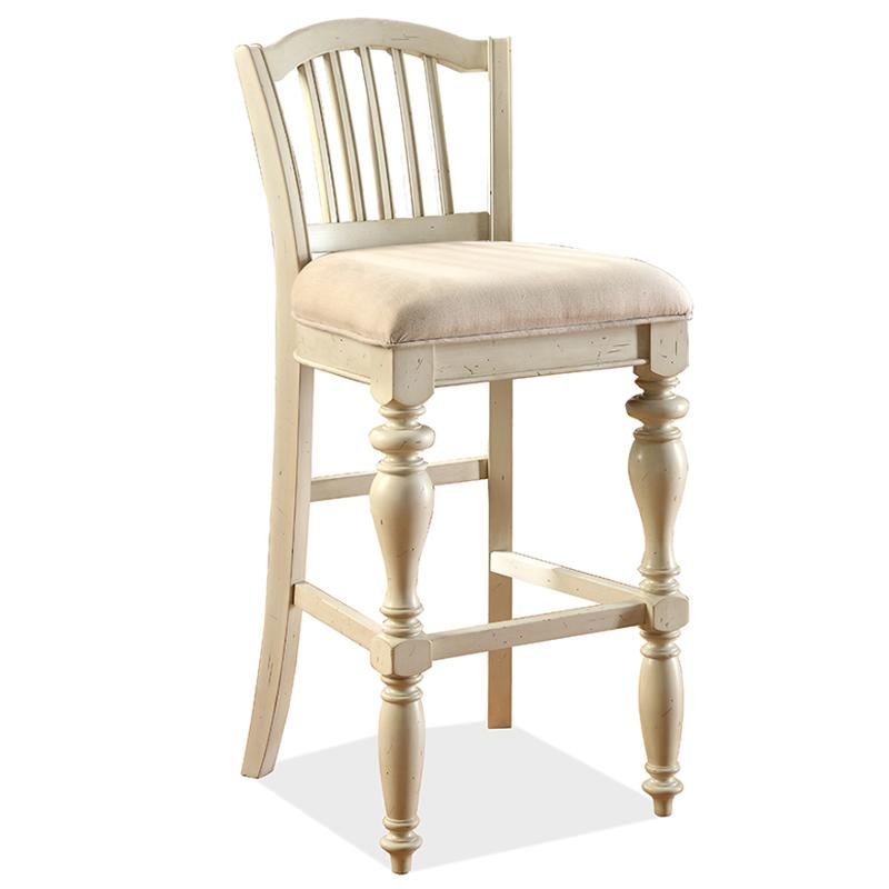 Super 36454 Riverside Furniture Mix N Match Chairs Barstool Upholstered Seat 2In Gmtry Best Dining Table And Chair Ideas Images Gmtryco