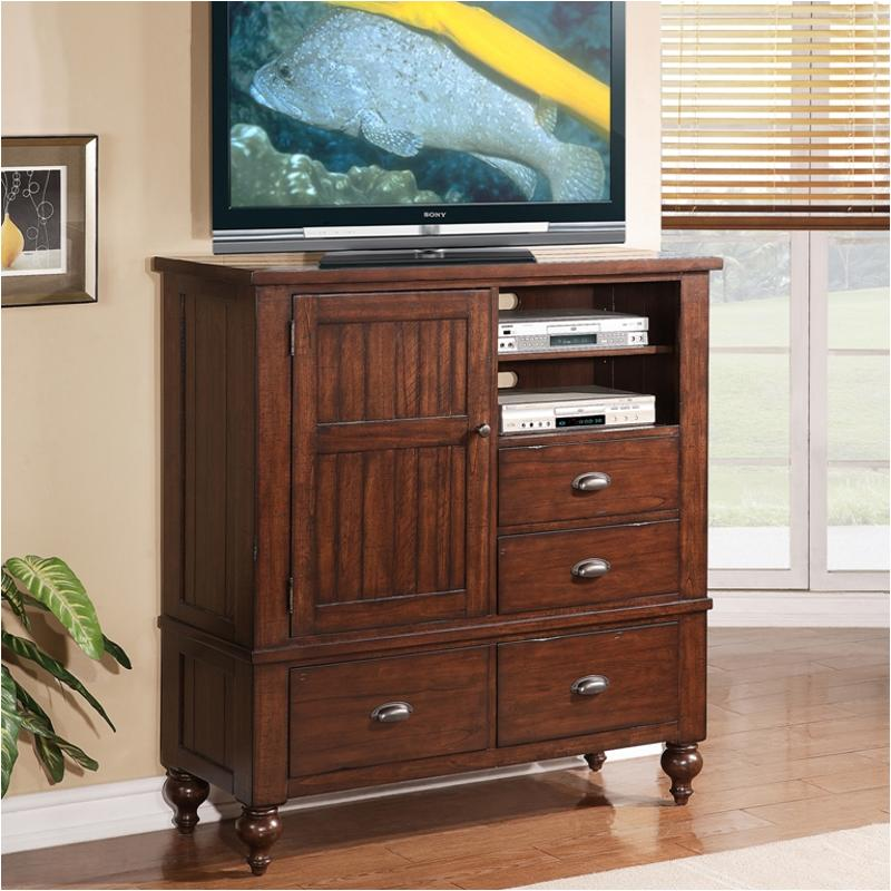 33564 Riverside Furniture Castlewood Bedroom Media Chest