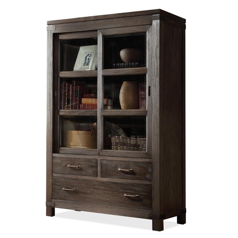 84536 Riverside Furniture Promenade Home Office Bookcase