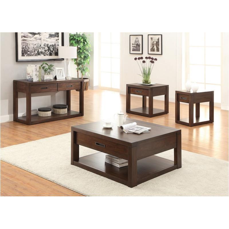 75803 Riverside Furniture Riata Living Room Square Cocktail Table
