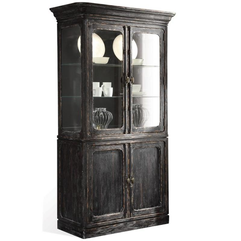 Dining Room Set With China Cabinet: 11855 Riverside Furniture Bellagio Dining Room China Cabinet