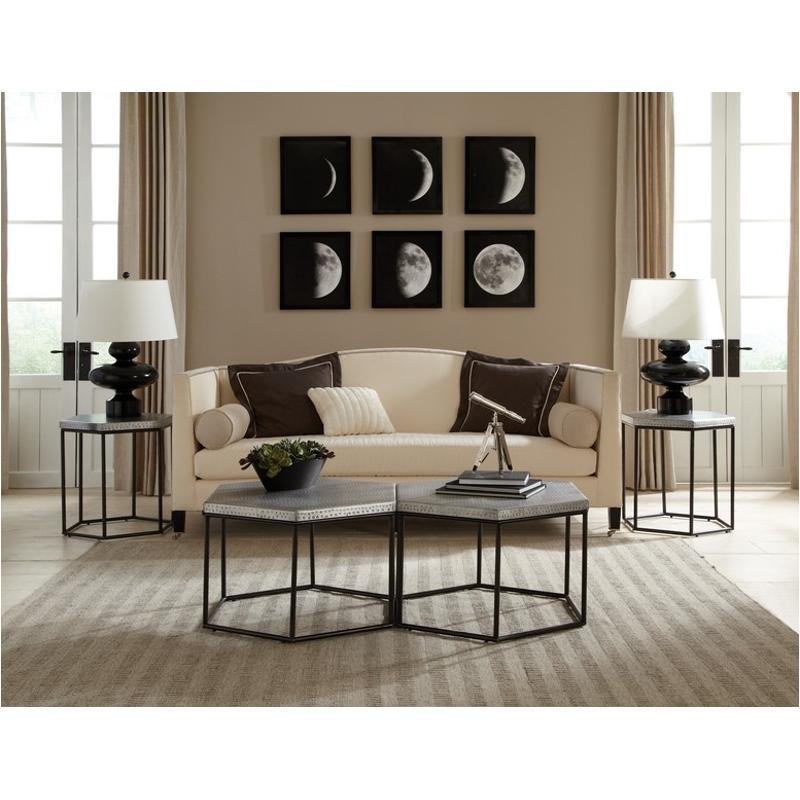 Riverside Furniture Lyric Hexagon Cocktail Table - Hexagon cocktail table
