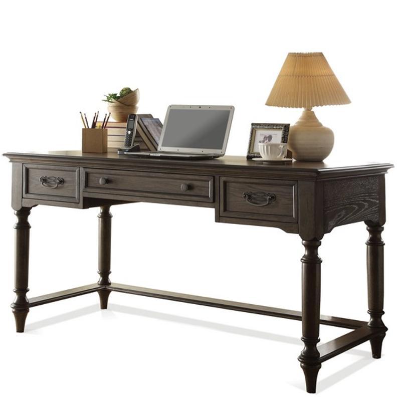 15830 Riverside Furniture Belmeade Home Office Writing Desk - Oak