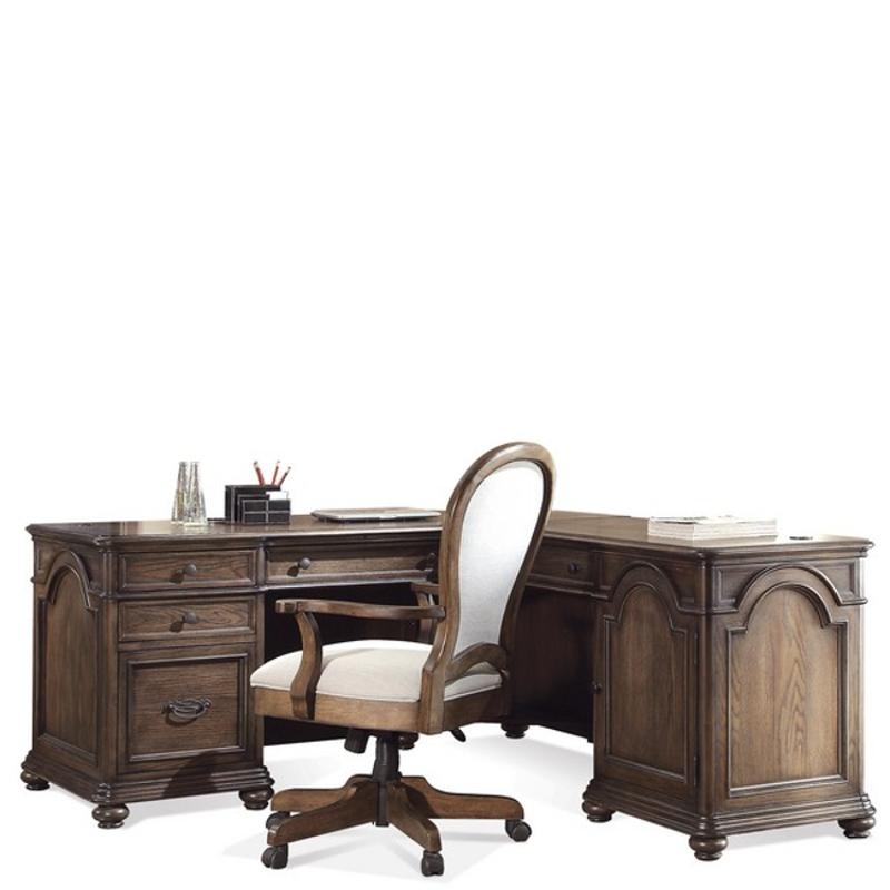 15832 Riverside Furniture Belmeade Home Office Desk