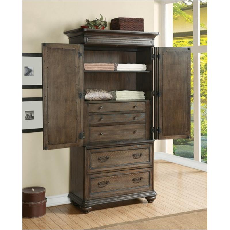 15866 riverside furniture belmeade bedroom armoire  oak
