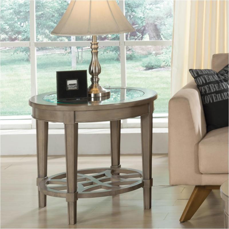 15508 Riverside Furniture Parkdale Living Room Round End Table