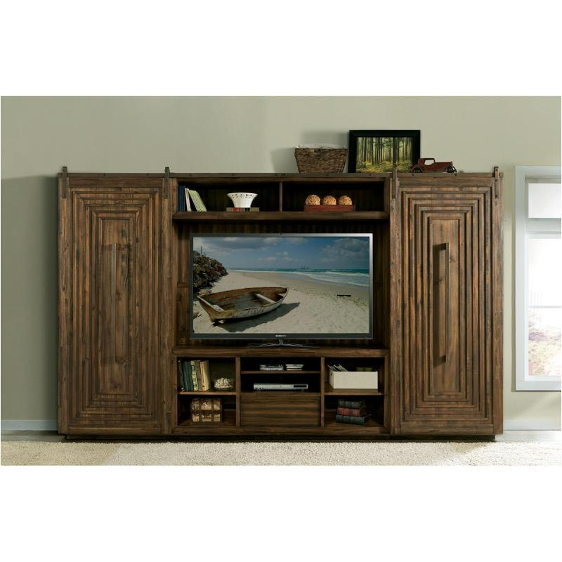 15340 Riverside Furniture Modern Gatherings Home Entertainment Center