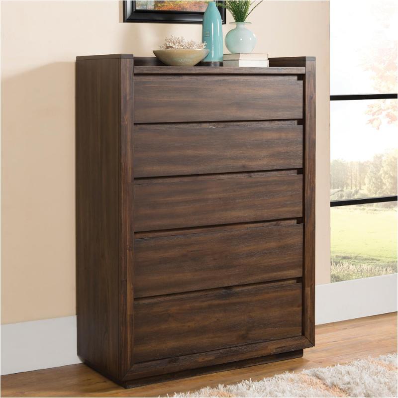 15365 Riverside Furniture Modern Gatherings 5 Drawer Chest