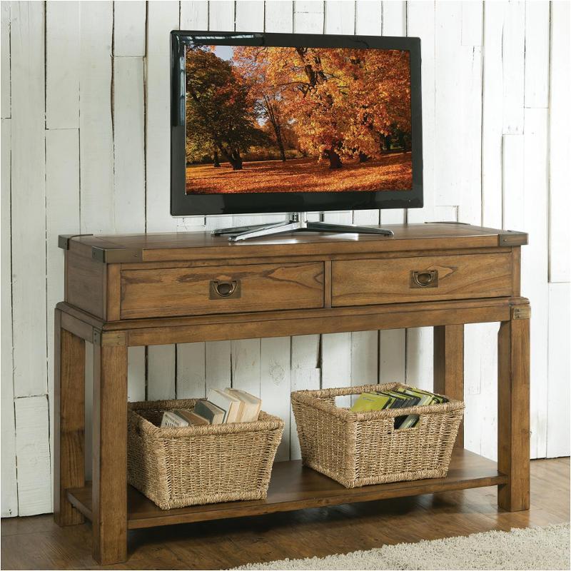 Pine Brook Boulder Mountain Residence Living Room: 16115 Riverside Furniture Falls Creek Sofa/console Table