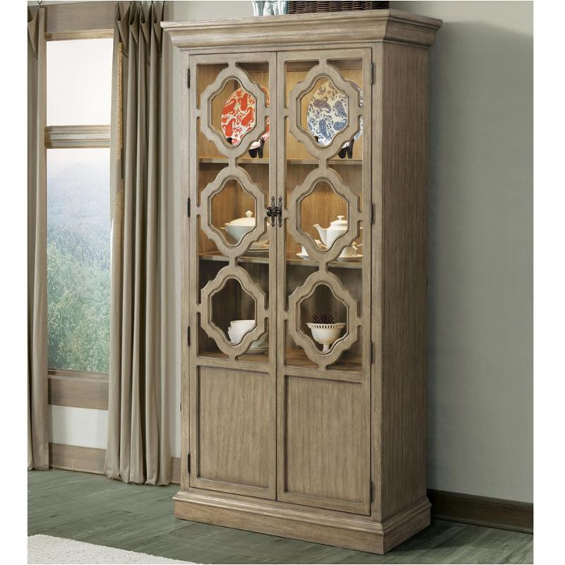 21555 Riverside Furniture Corinne Display Cabinet Dining Room China