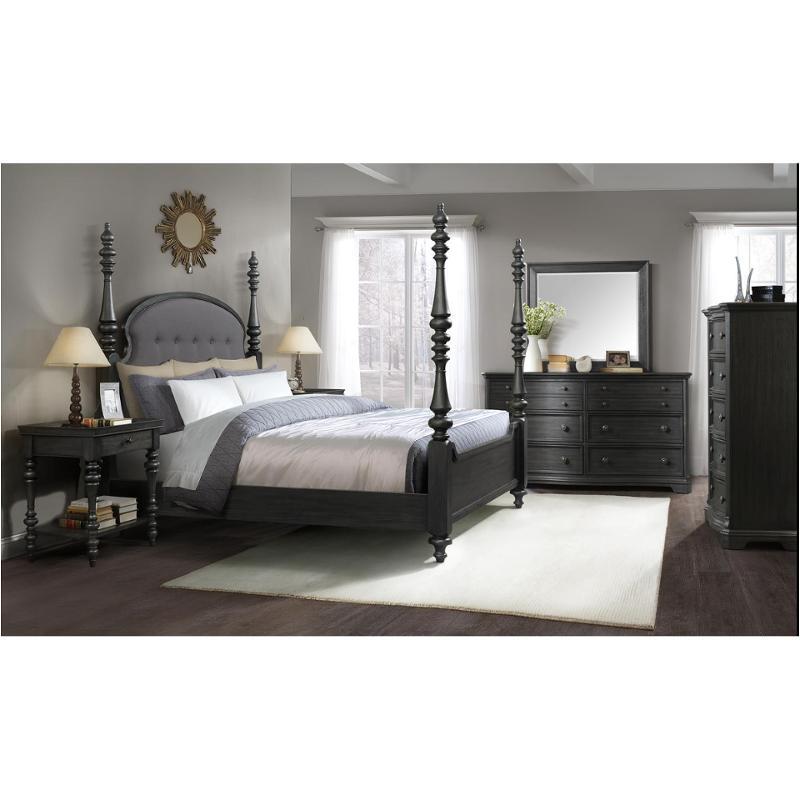 21774 Riverside Furniture Full/queen Upholstered Poster Bed