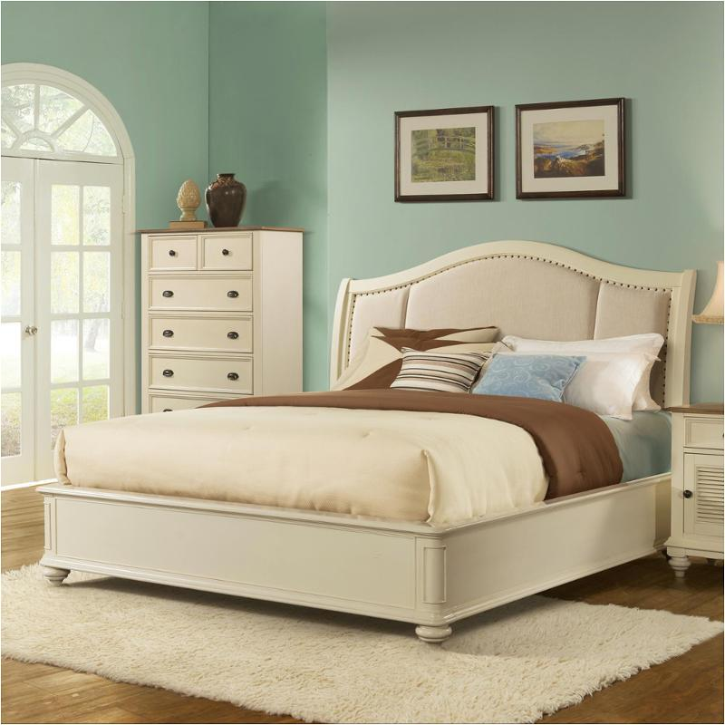 32588 Ck Riverside Furniture Coventry Two Tone Bedroom Bed