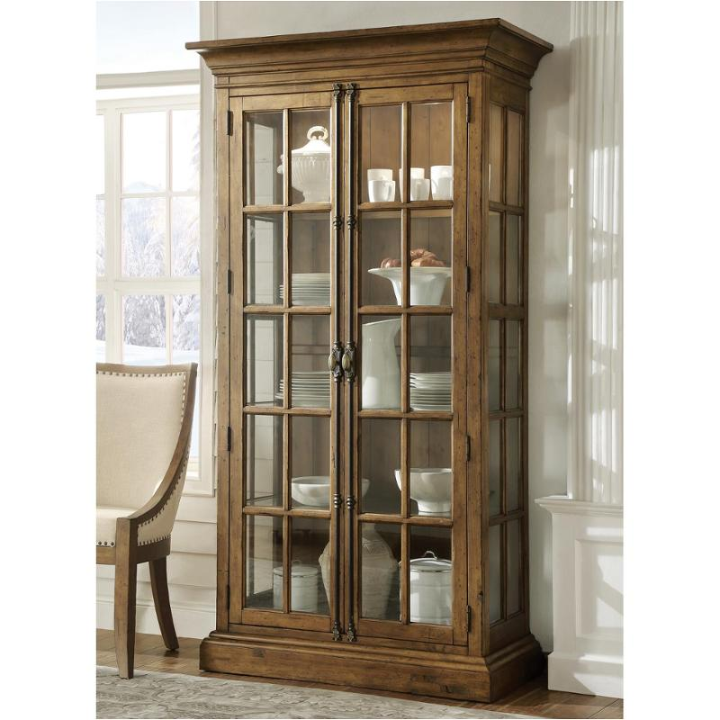 23655 riverside furniture hawthorne dining room display for Dining room display cabinets
