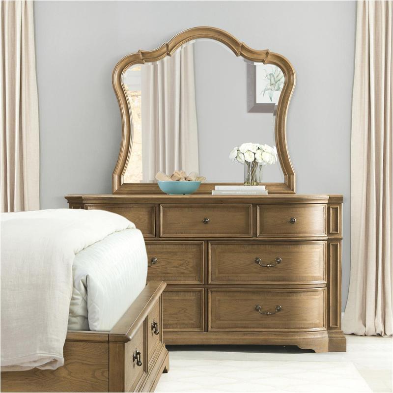 24660 riverside furniture verona-light sienna 7 drawer dresser