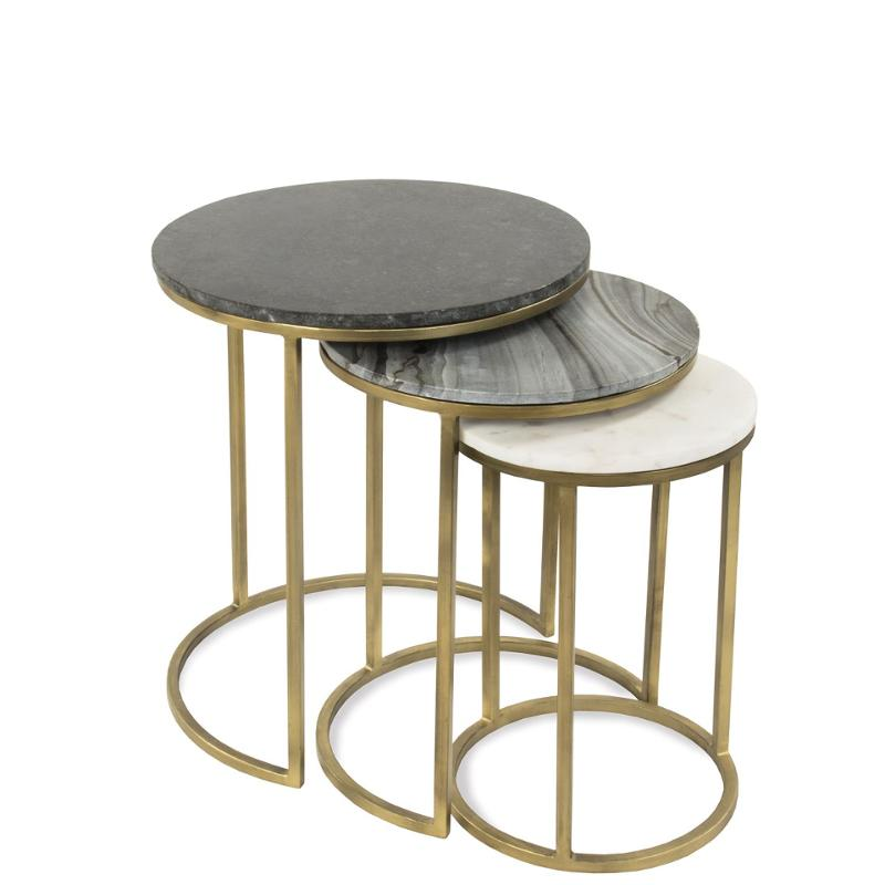 33709 Riverside Furniture Dainna Nesting End Table
