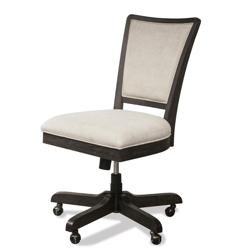 46038 Riverside Furniture Vogue Home Office Office Chair  sc 1 st  Home Living Furniture & 46038 Riverside Furniture Vogue Upholstered Desk Chair