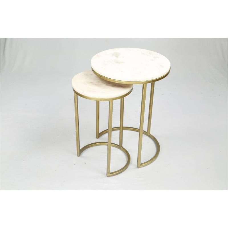 40709 Riverside Furniture Edith Nesting End Table