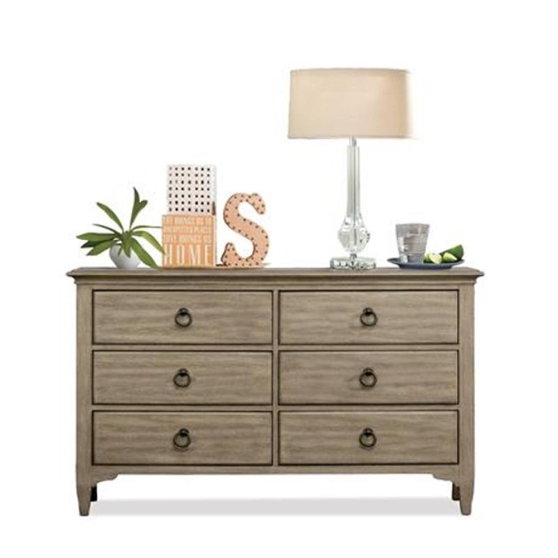 59466 Riverside Furniture Myra 6 Drawer Small Dresser