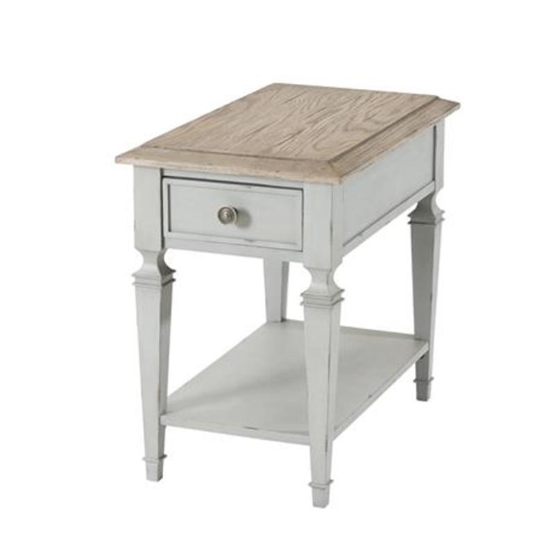 Peachy 28312 Riverside Furniture Burke Rectangle Chairside Table Cjindustries Chair Design For Home Cjindustriesco
