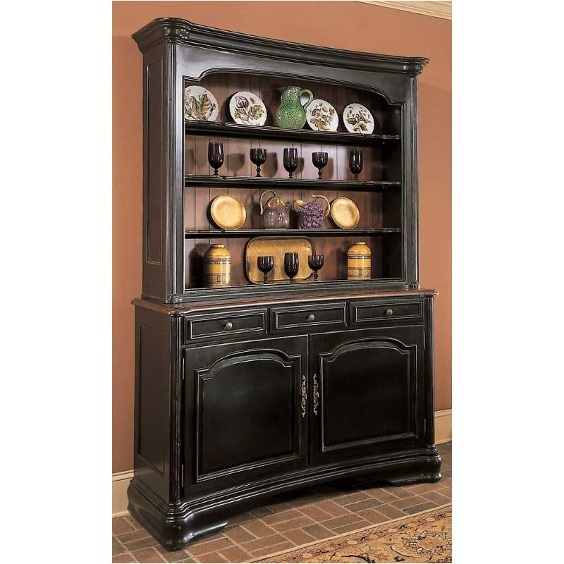 Black Hutch Buffet - Home Design Ideas
