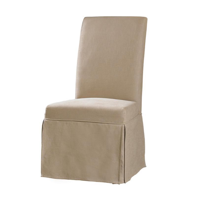 200 36 072 Hooker Furniture Decorator Chairs Clarice Skirted Chair Hemp
