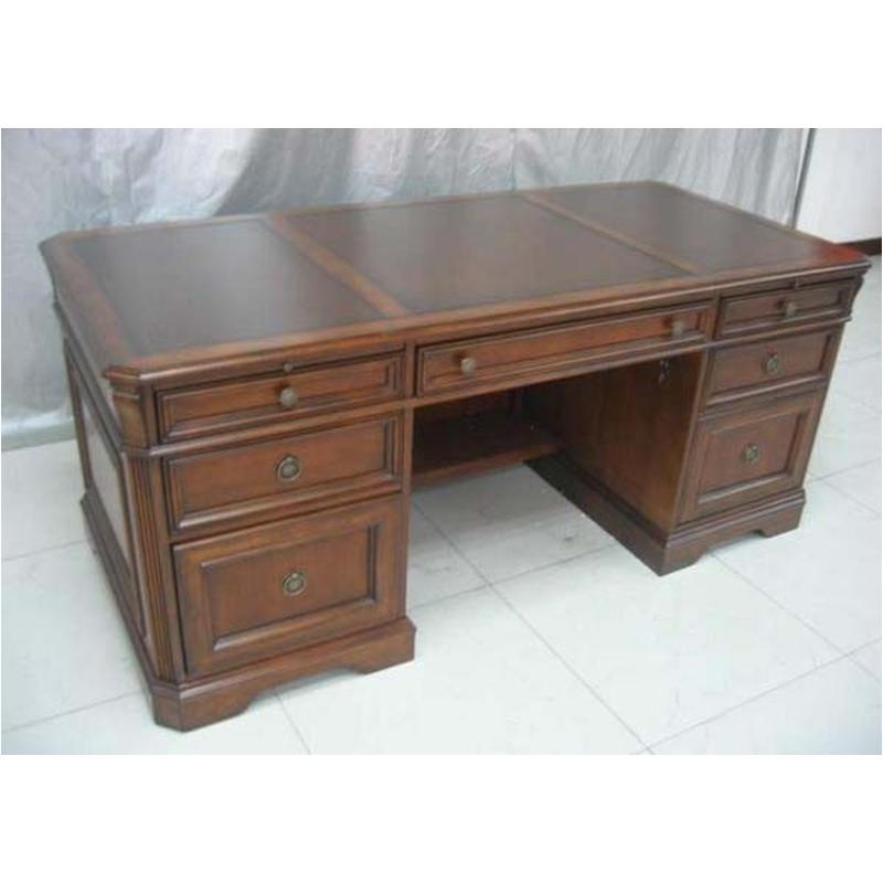 Hooker Furniture Brookhaven Armoire Desk Reviews: 281-10-563 Hooker Furniture Executive Desk (leather Top