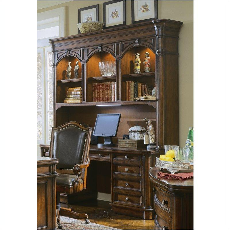 342-10-464 Hooker Furniture Computer Credenza With Hutch