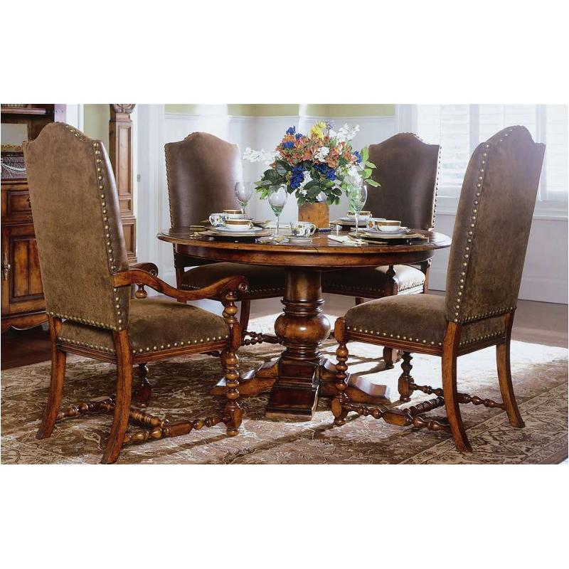 366 75 001 Furniture Waverly Place Round Pedestal Dining Table