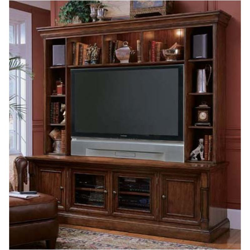 That Furniture Place: 367-55-452 Hooker Furniture Entertainment Console With Hutch