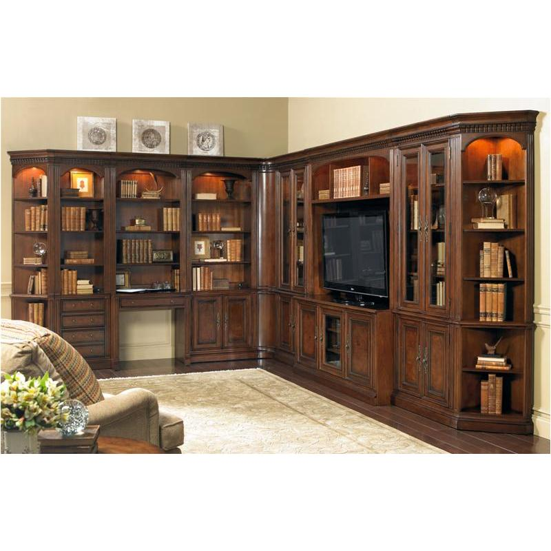 374 10 447 Hooker Furniture European Renaissance Ii Glass Door Bookcase