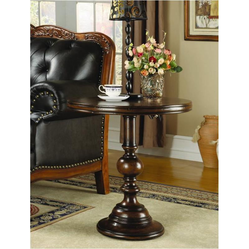Delicieux 500 50 733 Hooker Furniture Accents 24in Round Pedestal Accent Table