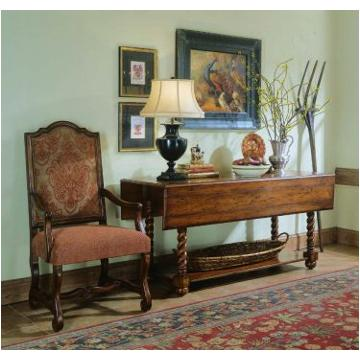716 85 122 hooker furniture beladora jacobean twist console for Beladora bedroom set