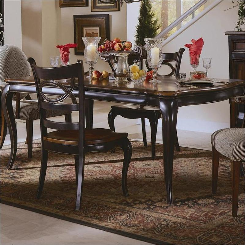 864 75 200 Hooker Furniture Preston Ridge Dining Room Dining Table