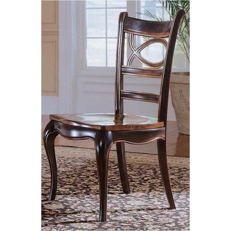 864 75 310 Hooker Furniture Oval Side Chair With Wood Seat